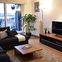 Appartement woonkamer gestyled
